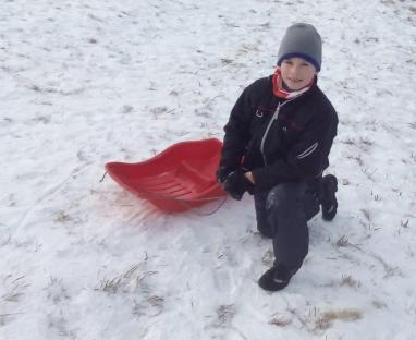 Na běžky je ještě málo sněhu! :-D